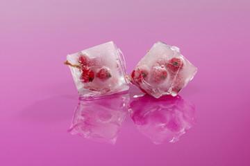 Frozen fruit.