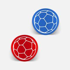 realistic design element: ball