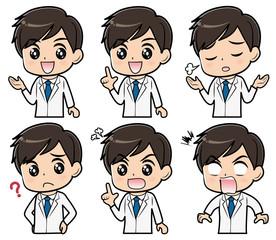 ドクター 表情セット