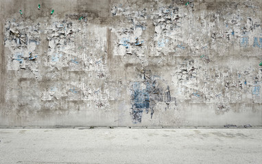 Dreckige Wand Wall mural