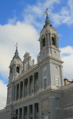 Cathedral of Saint Virgin Mary de la Almoudena. Madrid, Spain