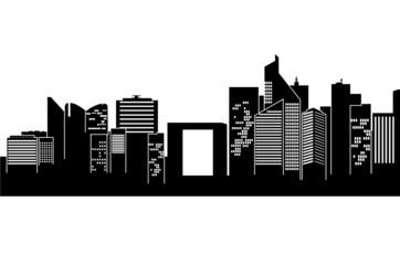 La Defense skyline