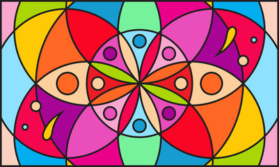 Kaleidoscope color background