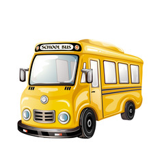Illustration of School bus