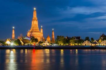 Wat Arun, The Temple of Dawn, at twilight