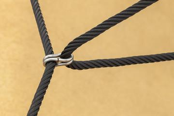 zwei verbundene Seile