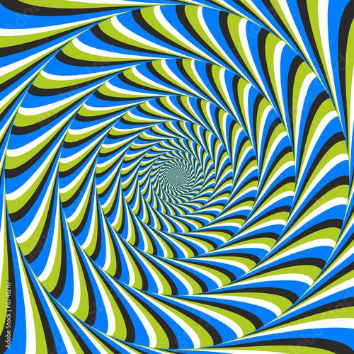 Optical illusion swirl ccw stok g rseller ve telifsiz for Effet d optique 3d