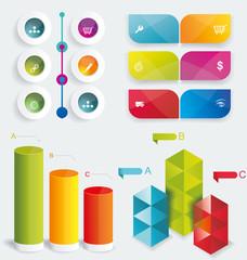 Set Infographic Design.