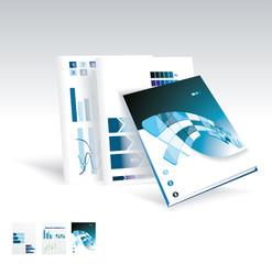 Magazine or brochure design