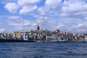 beautiful landscape of Istanbul and the Bosporus