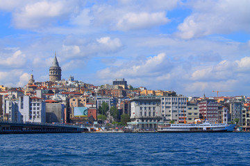 landscape of Istanbul and the Bosporus
