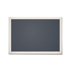 Blank retro photo frame