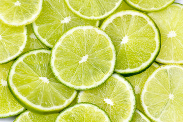 lime slices - background