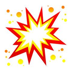 Vector burst icon