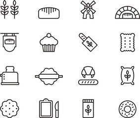 Bread & Bakery icons