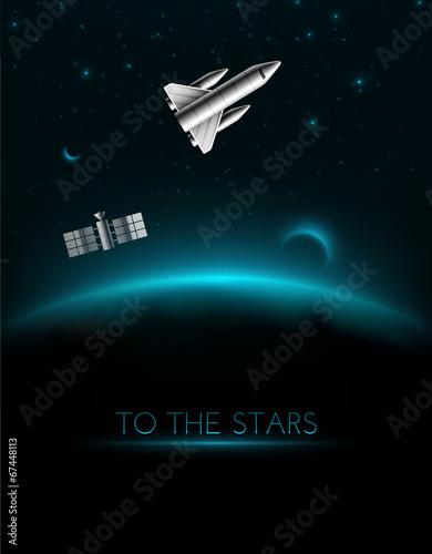 Sticker To The Stars