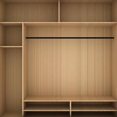 Wardrobe shelf shelving