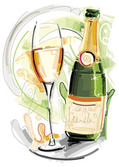 Party Champagner