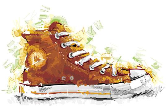 Digital Fashion Shoe