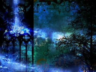 magic mystery time machine background