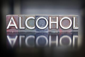 Alcohol Letterpress