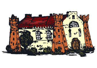 Vintage house.