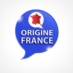 bulles tricolore : origine en france