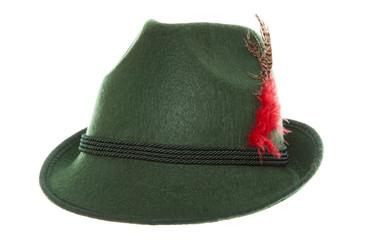 Green bavarian hat