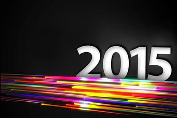 2015 Bottom Rainbow straight Line Glow Dark Backgroundound