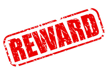 REWARD red stamp text
