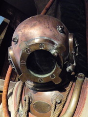 deep-sea diving suit