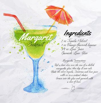 Margaret cocktails watercolor