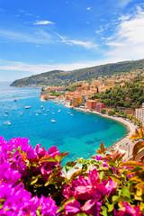 Printed roller blinds Nice Luxury Resort, Villefranche sur Mer, French Riviera, Côte d'Azur