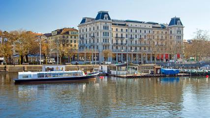 Limmatquai Zürich Schweiz