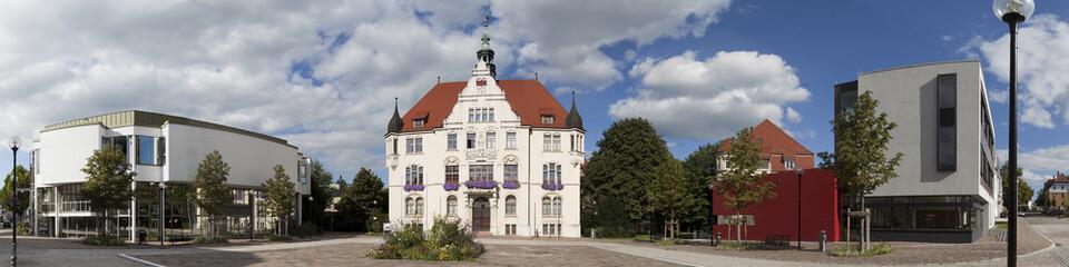 Trossingen Rathaus Panorama