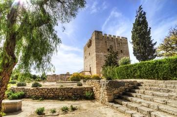 Photo sur Aluminium Chypre Medieval castle of Kolossi, Limassol, Cyprus