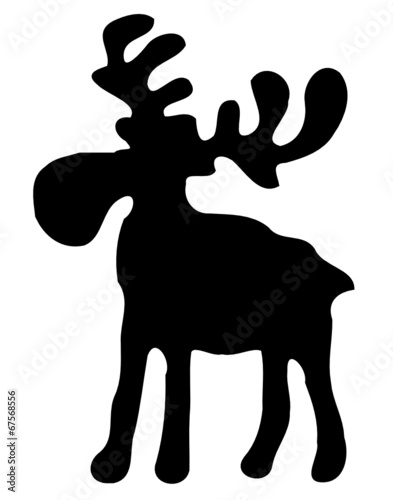 elch rentier weihnachten stockfotos und lizenzfreie. Black Bedroom Furniture Sets. Home Design Ideas