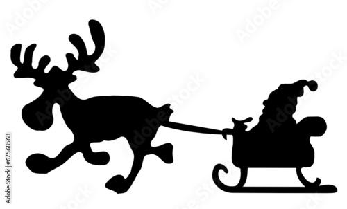 Elch / Rentier Weihnachten\