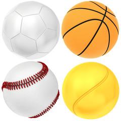 set sport ball