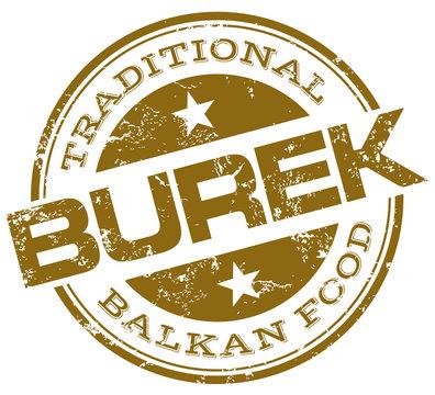 burek stamp