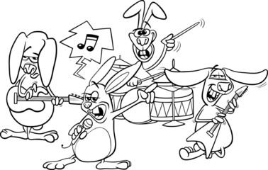heavy metal band coloring pages - photo#16