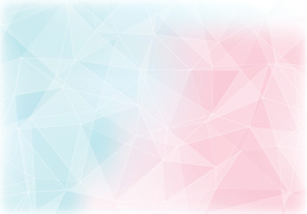 pink and blue polygon abstract background