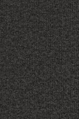 Woolen Woven Fabric Charcoal Black Grunge Texture