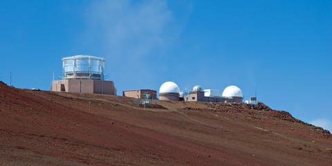 Haleakala Observatory in Haleakala National Park on Maui Island