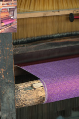 traditional arabic silk production