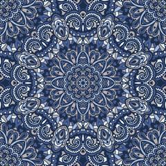 Oriental ornate seamless pattern.