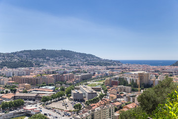 French Riviera. Nice view from the hill of Cimiez - 8