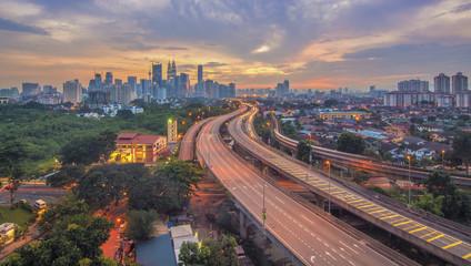 Foto op Aluminium Kuala Lumpur Scene of Kuala Lumpur