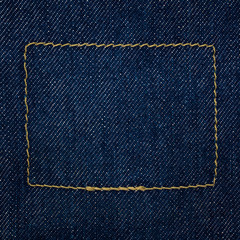raw denim indigo blue jeans texture background