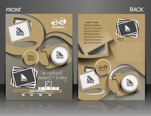 Photography Studio Flyer & Poster Template